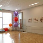 Interiørfoto fra treningsrom